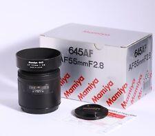Mamiya 645 AF 55mm 1:2.8  Obiettivo per 645 AFD, eccellente!!!