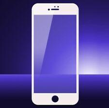 iPhone 7 3D Full Cover WEIß Panzerglas SOFT EDGE Panzerfolie Glas WEISS AntiBlue