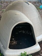 Petmate Heavy Duty Xlarge Indigo Microban Igloo Shaped Dog House Pickup Only