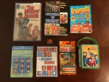 1969 THE BRADY BUNCH 50 YEAR ORIGINAL MEMORABILIA LOT (8) COMIC,BOOKS,LUNCH BOX