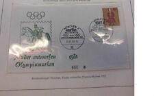 Germania Busta Disegni Bambini Olimpiadi Monaco 1972 Messico 25.10.1968