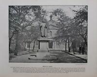 1896 London Stampa + Testo WESLEY'S Cappella