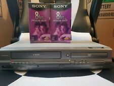 New listing Magnavox Mwd2205 Dvd Vcr Combo Video Cassette Player No Remote + 2 Vhs T-160