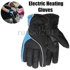 Electric Heating Winter Warmer Heated Gloves Motorcycle Bicycle Hunting Outdoor