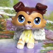 Littlest Pet Shop Collie Dog, Inspired Collie #58 Ooak Custom, Hand Painted, LPS