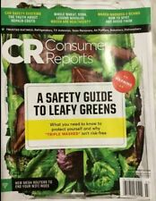 CONSUMER REPORTS March 2020  Dishwashers | Refrigerators |  Leafy Greens Safety