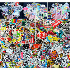 100 Pcs Car Stickers Skateboard Sticker Graffiti Laptop Luggage Decals mix lot