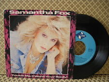 Samantha Fox Touch me (I Want Your Body) -  45g 7'' (B2)