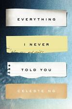 Everything I Never Told You: A Novel Alex Awards Awards