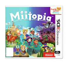 Miitopia (Nintendo 3DS, 2017) All Inclusive!  Cheap Ship!  Great Condition!
