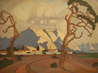JACOB HENDRIK PIERNEEF : Karibib, South West Africa : 1929 : Archival Art Print
