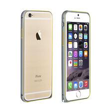"Bumper Metal Case Schutzhülle für iPhone 6 & 6S 4.7"" in Grau Gelb"