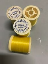 Danville Monocord Waxed Fly Tying Thread Yellow