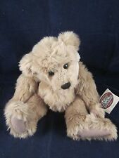 "GANZ Cottage Collectibles Teddy Bear CLANCY 13"" SIGNED 1998 Sue Coe NEW with TAG"
