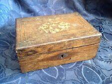 Art. 98 -  Fantastica CASSETTA in legno intarsiata e lastronata in  palissandro