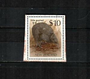 NEW ZEALAND Scott's 930d ( S/S  Single ) Little Spotted Kiwi F/VF used ( 1989 )