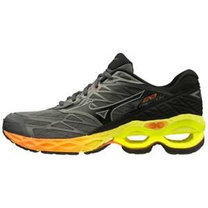 Mizuno Wave Creation 20 Black Grey Yellow Orange 411060-9S97 Men's Size 7.5-13
