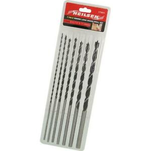 Extra Long Wood Drills Metric Sizes 4 5  6  7  8 10  12 x 30 Woodwork 3651