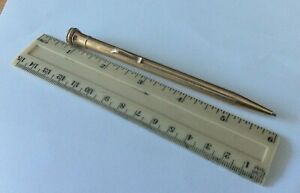 Mint Wahl Eversharp Gold Plated Mechanical Pencil