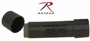 Woodland Camouflage Face Paint Stick - Rothco Hunting & Military Camo Facepaint