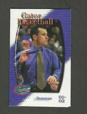 2001-02 UNIVERSITY OF FLORIDA (MEN'S BASKETBALL) SPONSORED BY CITGO