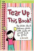 Tear Up This Book!: The Sticker, Stencil, Stationery, Games, Crafts, Doodle, and