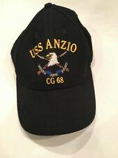 Uss Anzio (Cg-68) Snapback Hat Made In Usa