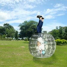 1.2m Inflatable Bumper Ball Human Knocker Bubble Soccer/Football Game Kid&Adult<