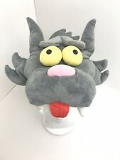 Universal Studios The Simpsons Itchy & Scratchy Cat Gray Plush Hat Costume
