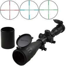 Sniper 6-24x50 W front AO adjustment Red/Blue/green mil-dot reticle Heavy Duty