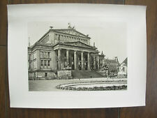 VINTAGE B&W PHOTOGRAPH BERLIN STATE THEATRE GERMANY 23cm x 17cm  REF3