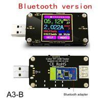 QC2.0/QC3.0 USB Tester Color Bluetooth Type-C Digital Volt Current Amp meter