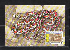 cma/ carte maximum   Bulgarie   serpents  25s      1989