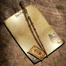 Dumbledor Elder wand with spell list