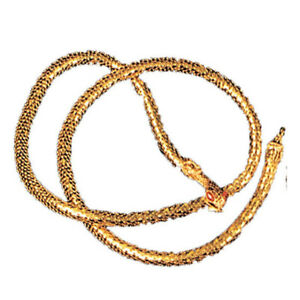 Gold Snake Belt Cleopatra Egyptian Costume Cosplay Halloween Gift