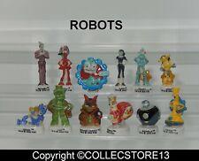 BDO130  SERIE COMPLETE DE FEVES ROBOTS