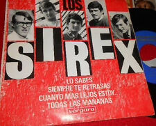 LOS SIREX  EP Spain 1966 Lo sabes +3