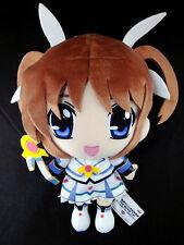Magical Girl Lyrical Nanoha Takamachi Super DX Plush Doll official Banpresto