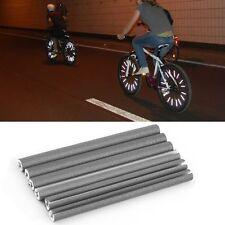 72PCS Moto Bicicleta Mount Rueda Llanta Spoke Tubo Reflector Reflectante YB