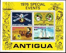 Antigua 1976 ** bl.27 telephone Telecommunication Alexander Graham [sq3298]