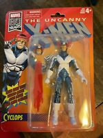Marvel 80 Years Legends Cyclops X-Men Retro Action Figure 6-Inch Scale Toy