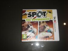 SPOT THE DIFFERENCES JEU 3DS NEUF SOUS BLISTER