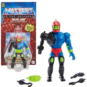 Masters of the Universe Origins: Trap Jaw Action Figure - Mattel GNN97 - In Hand