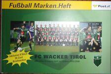 Autriche, carnet de prestige FC Wacker Tirol, 2006, football