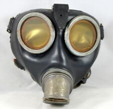 GERMAN WWII WEHRMACHT MILITARY GAS MASK ORIGINAL RARE WAR RELIC
