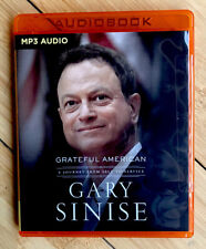 GRATEFUL AMERICAN a journey from self to service GARY SINISE MP3 CD AUDIOBOOK