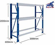 2x0.6x2M Tyre Rack shop Steel Garage Warehouse Storage Shelving  3 layers 2020T3