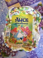 Handmade Walt Disney's Alice in Wonderland Little Golden Books Basket Tray RARE