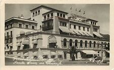Vintage RPPC Real Photo Postcard Gran Hotel Mencey Santa Cruz De Tenerife Spain