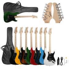 Glarry Brand 8 Colors School Maple Neck Electric Guitar w/Bag & Accessories